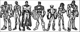 Avengers Coloring Page 081