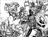 Avengers Coloring Page 098