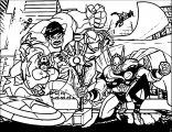 Avengers Coloring Page 119