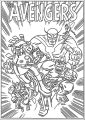 Avengers Coloring Page 120