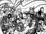 Avengers Coloring Page 127