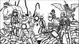 Avengers Coloring Page 168