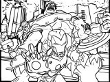 Avengers Coloring Page 186
