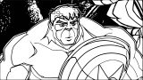 Avengers Coloring Page 223