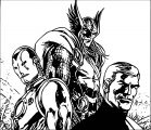 Avengers Coloring Page 273