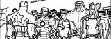 Avengers Coloring Page 278