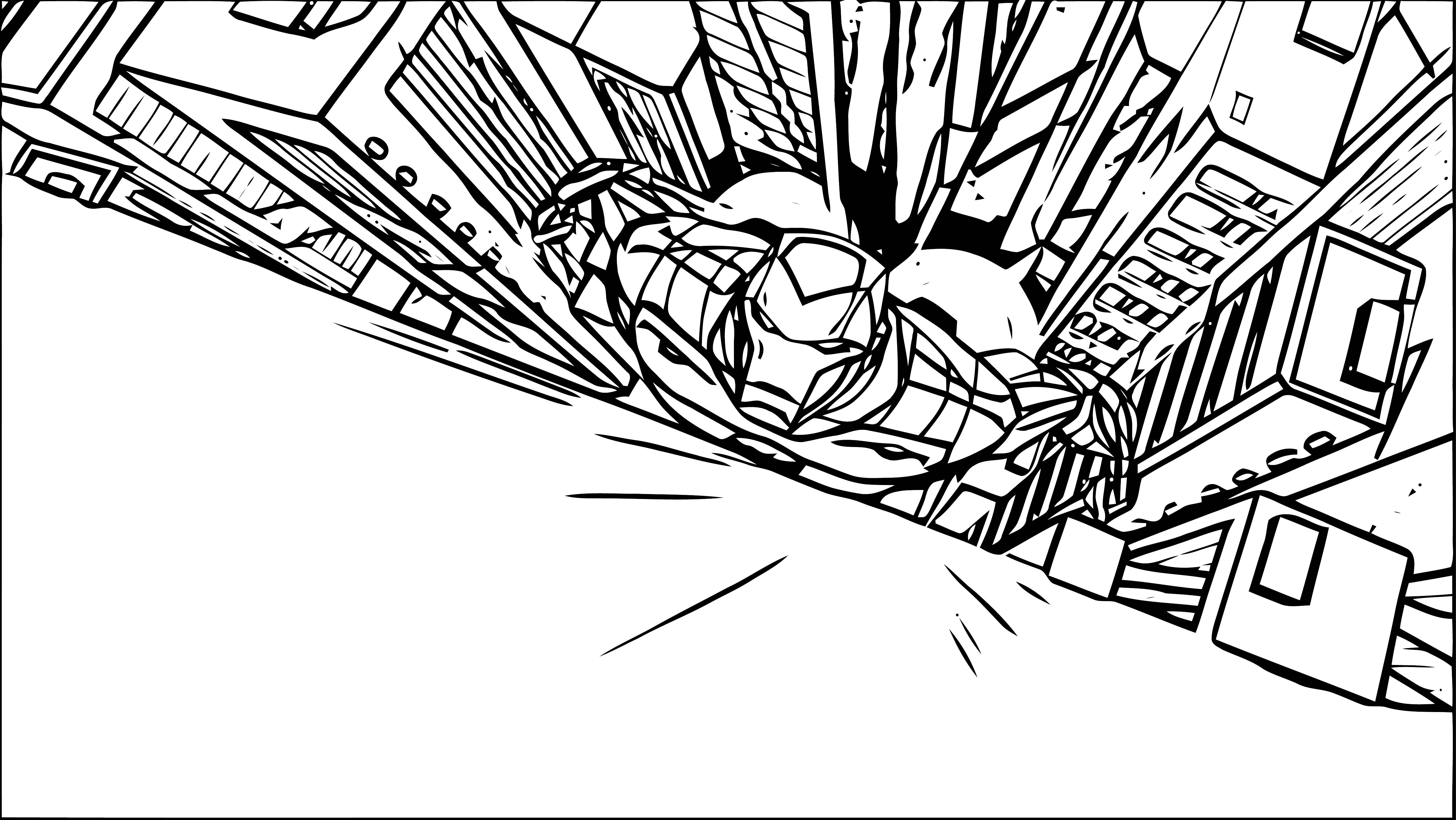 Avengers Coloring Page 283