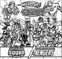 Avengers Coloring Page HeroUp