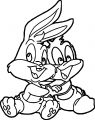 Baby Looney Tunes 01 The Looney Tunes Show Coloring Page