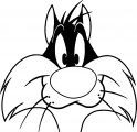 Baby Looney Tunes Sylvester 13 The Looney Tunes Show Coloring Page