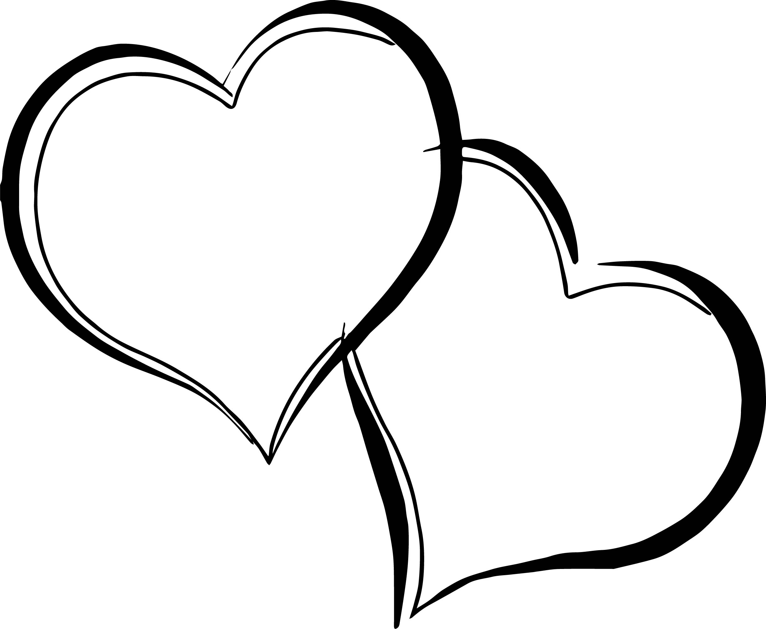 Barbie Heart Coloring Page