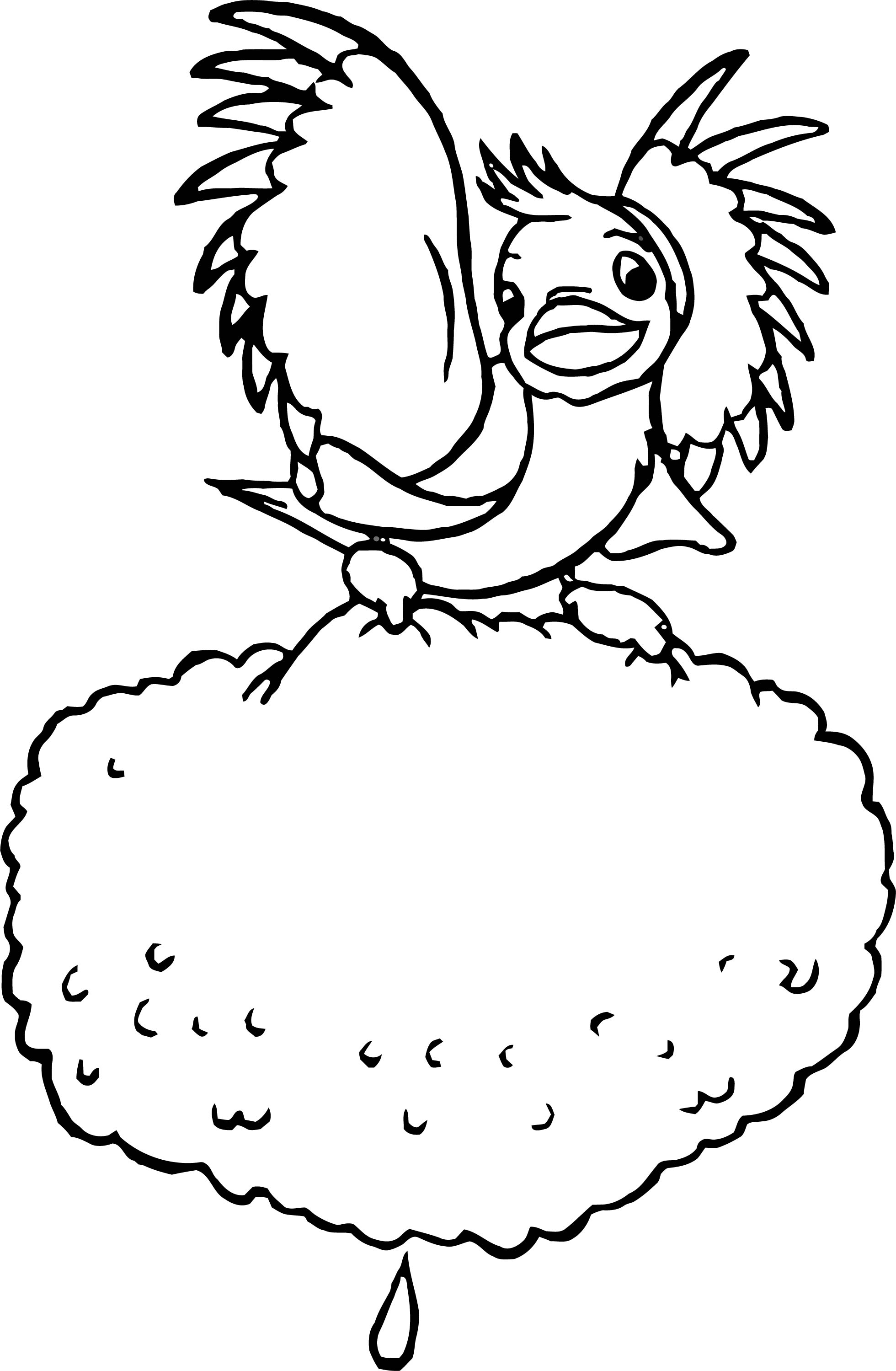 Bird Wind Coloring Pages