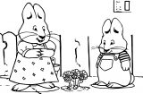 Cast Of Max And Ruby Max And Ruby Coloring Page