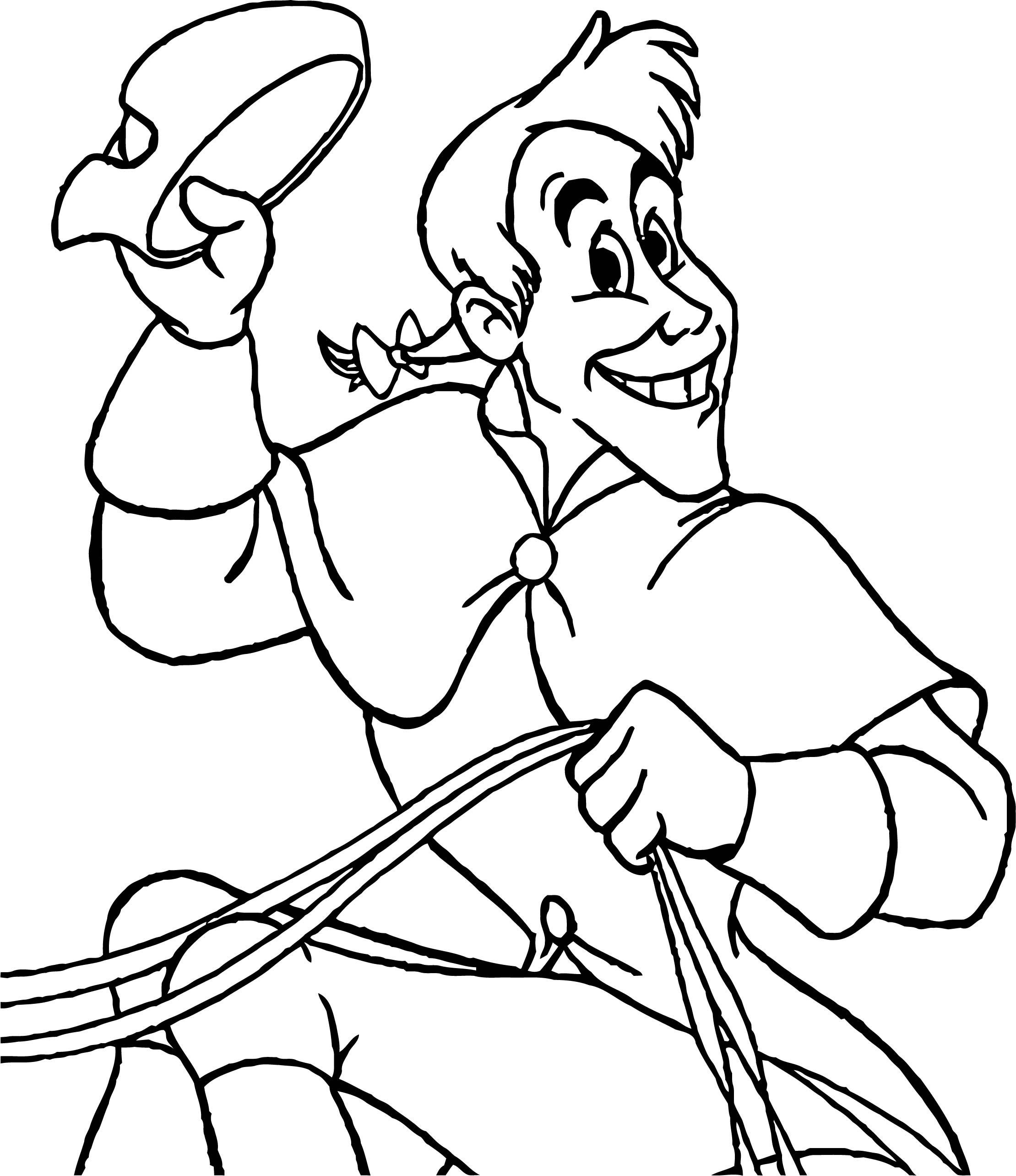 Coachman Coloring Pages