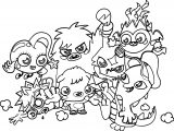 Cute Monsters Adorable And Random Monsters New Coloring Page