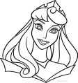 Disney Aurora Face Sleeping Beauty At Coloring Pages 29