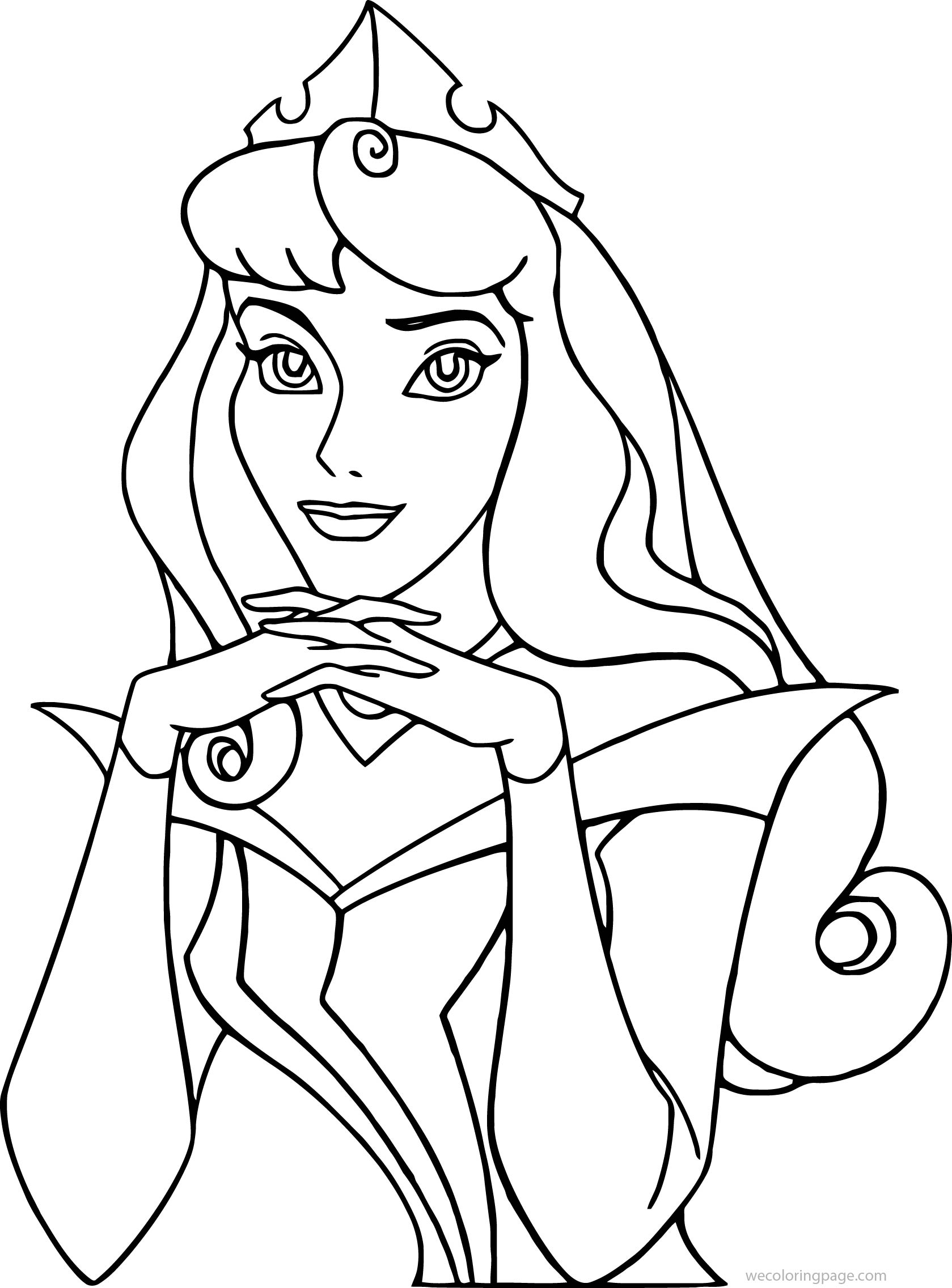 Disney Aurora New Sleeping Beauty At Coloring Pages 30