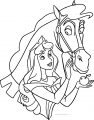 Disney Aurora Samson Horse Sleeping Beauty At Coloring Pages 30