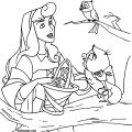 Disney Aurora Sleeping Beauty At Coloring Pages 10