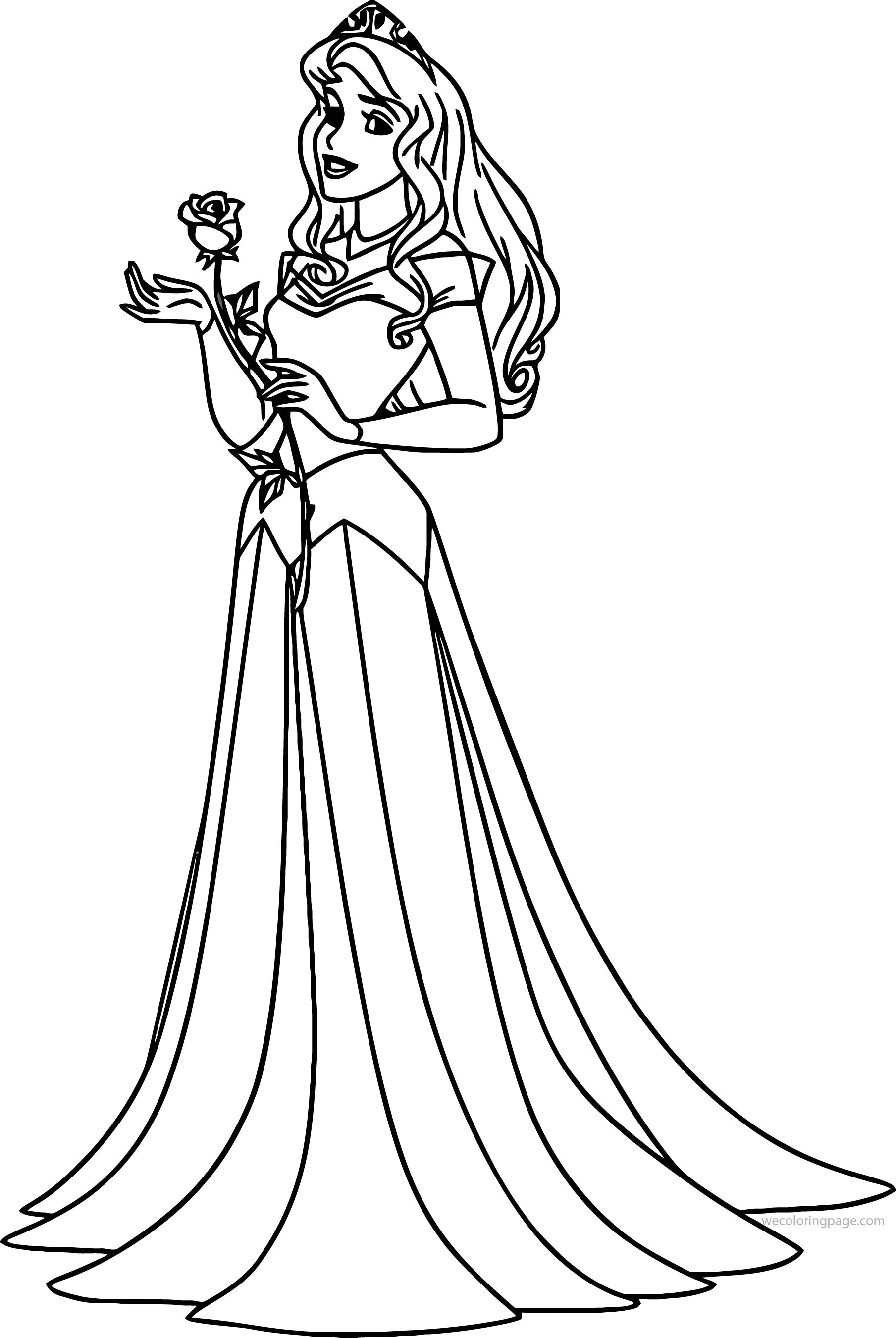 Disney Aurora Sleeping Beauty At Coloring Pages 21