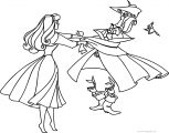 Disney Aurora Sleeping Beauty At Coloring Pages 25