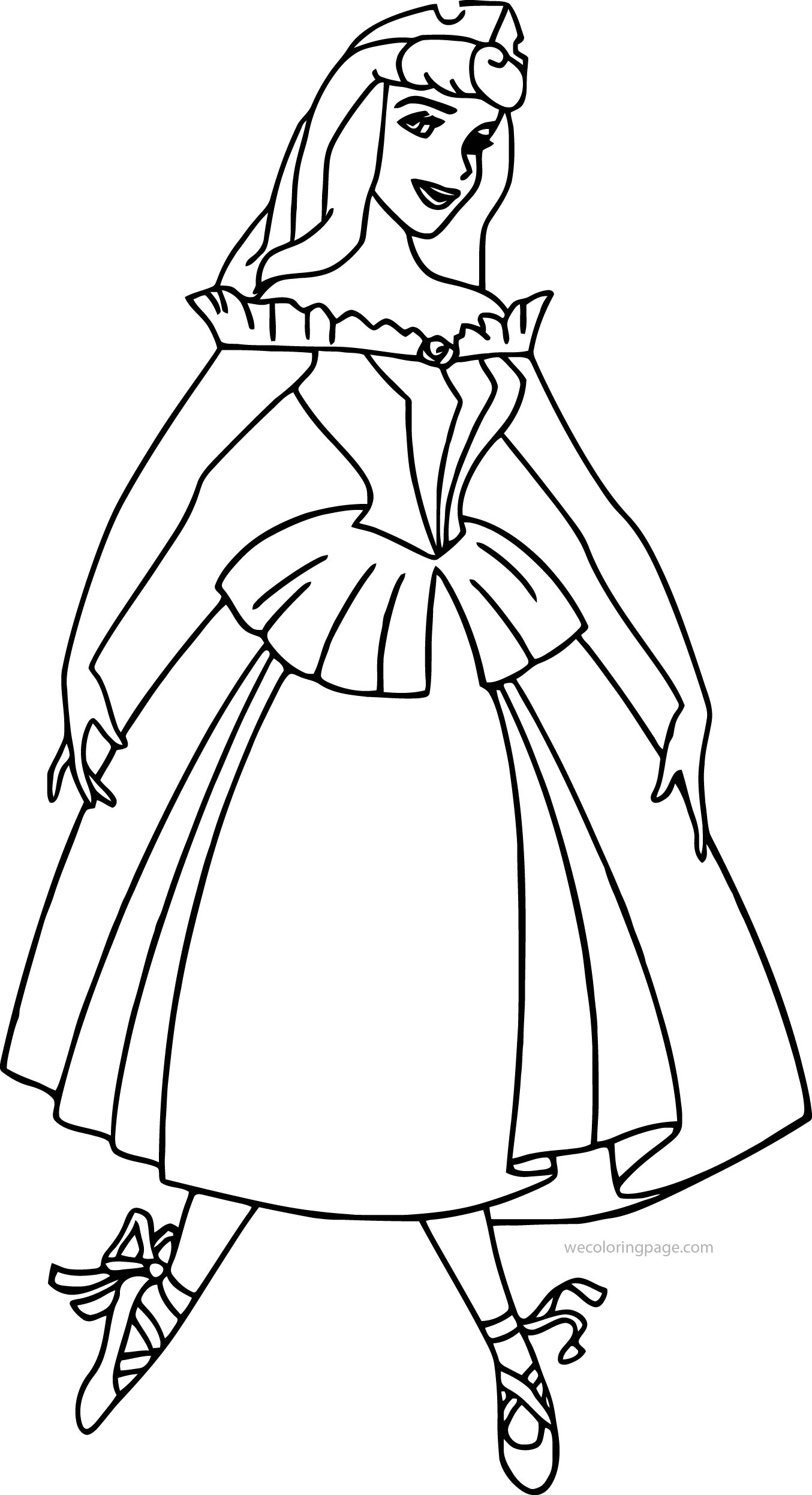 Disney Aurora Sleeping Beauty At Coloring Pages 28