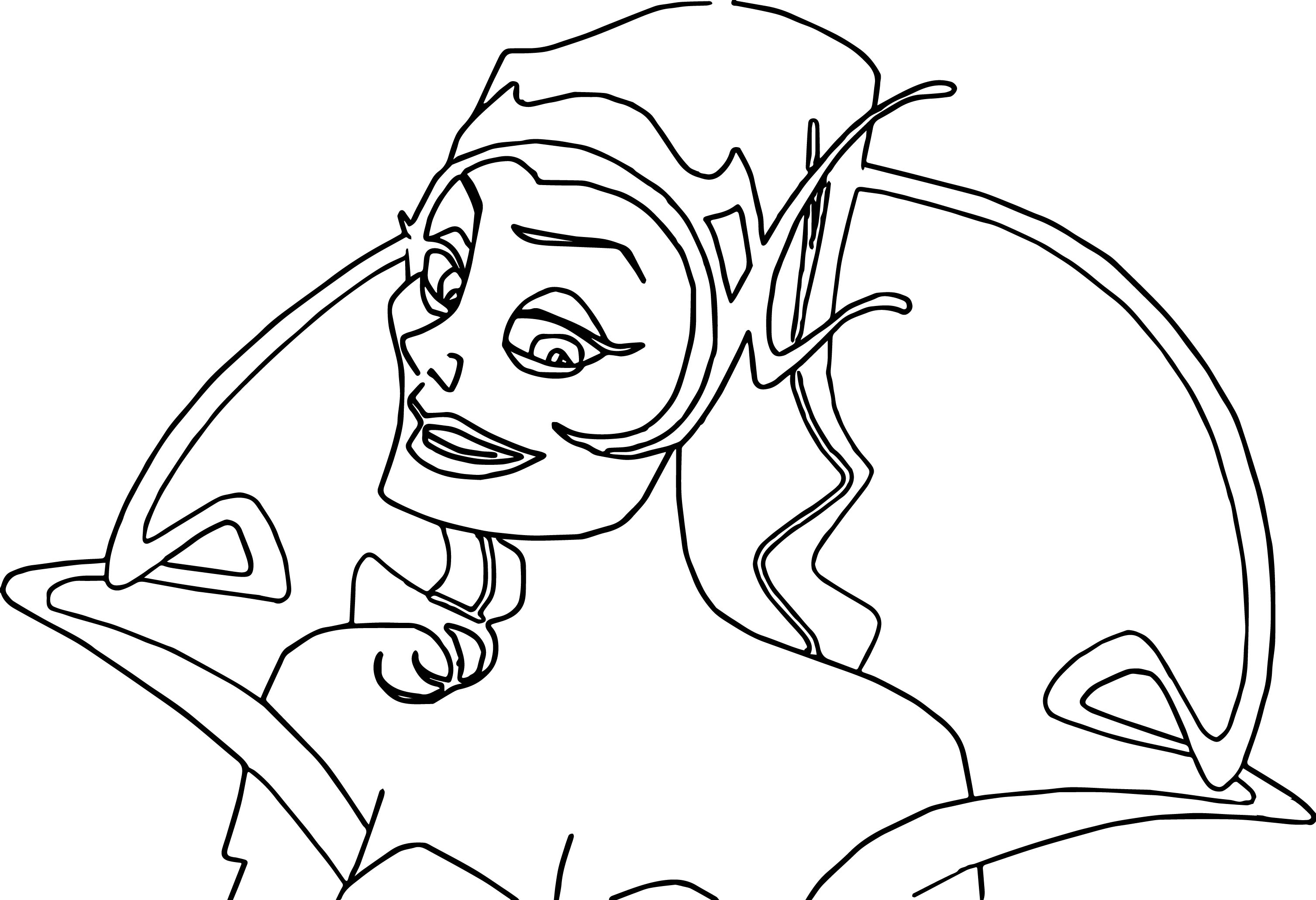 Disney Enchanted Bad Woman Coloring Pages 23