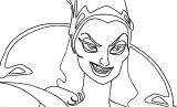 Disney Enchanted Bad Woman Smile Coloring Pages 26