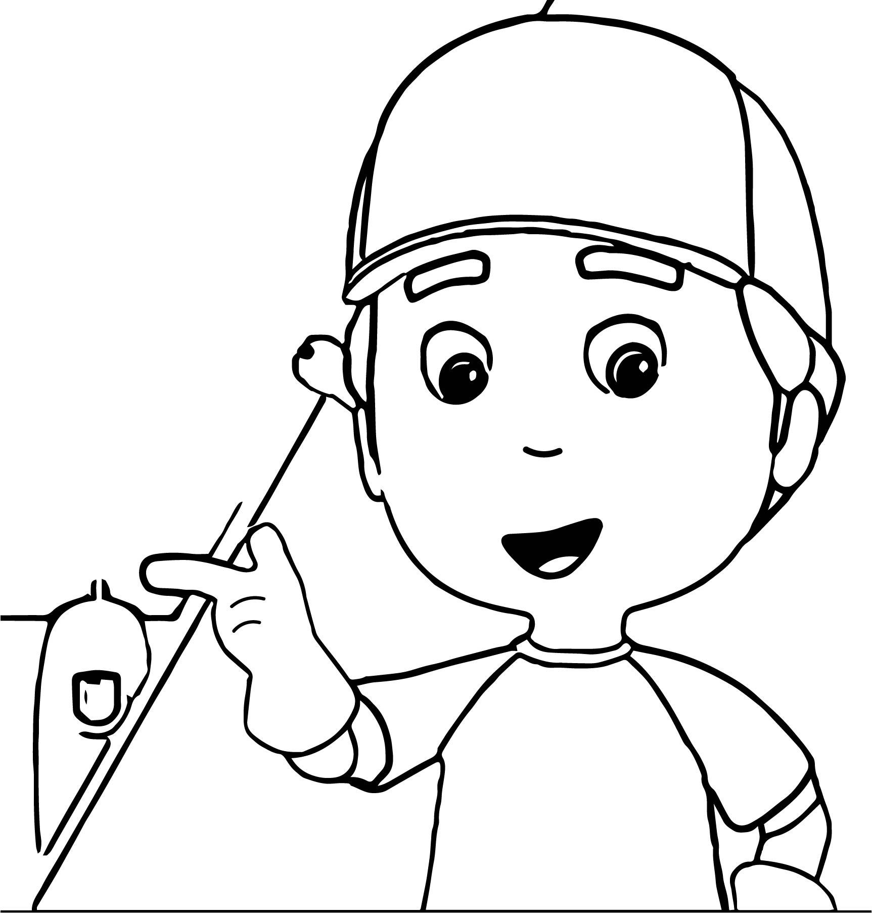 Disney Junior Handymanny Carnival Coloring Page
