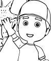 Disney Junior Handymanny Coloring Page