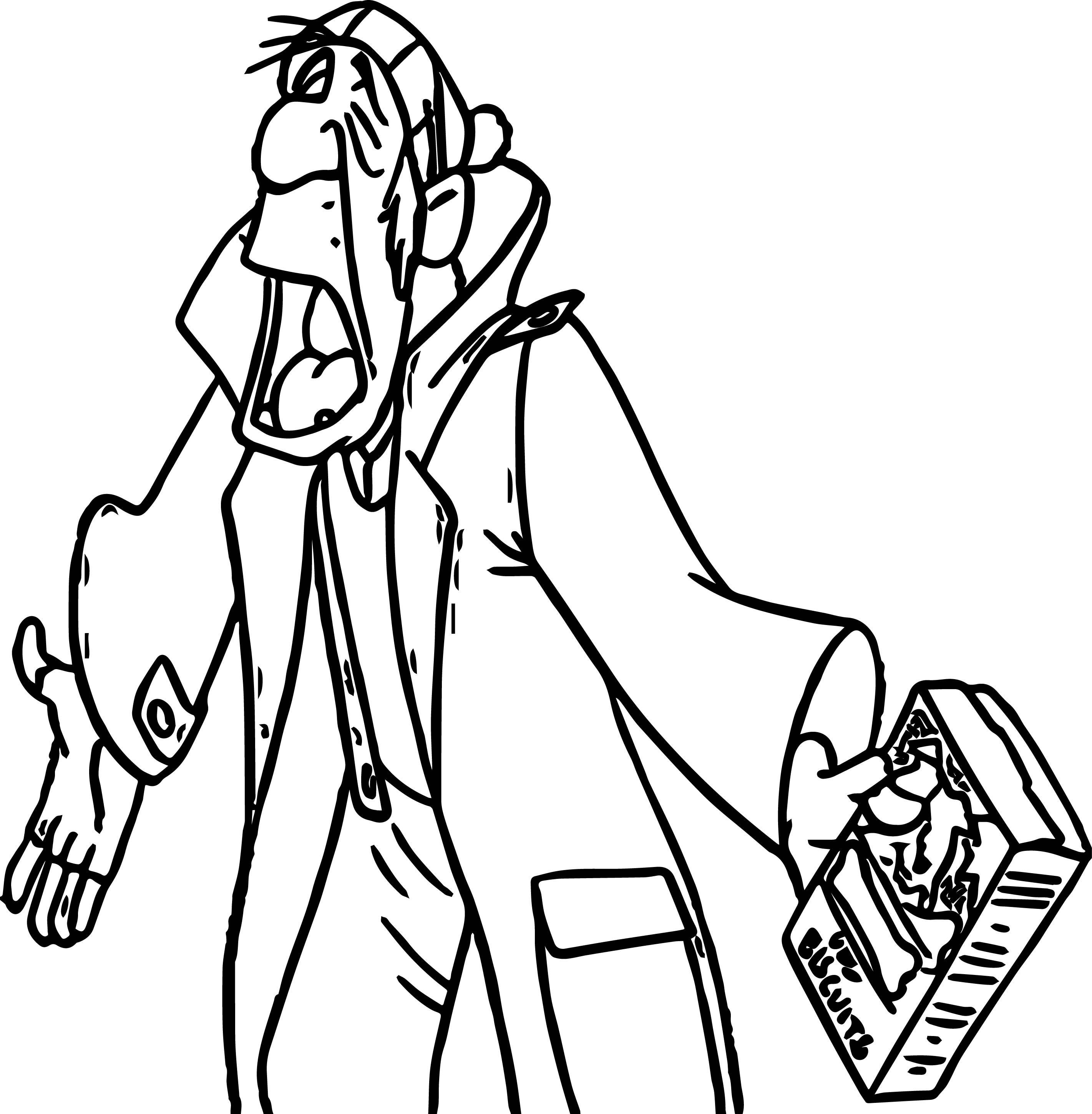 Dogbis Man Coloring Pages