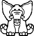 Elephant Coloring Page 102