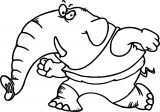 Elephant Coloring Page 105