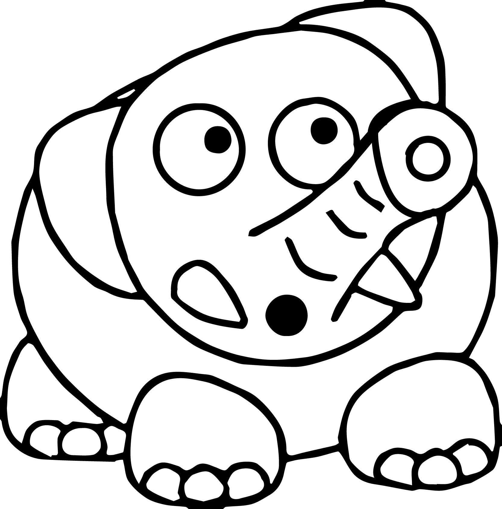 Elephant Coloring Page 42