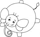 Elephant Coloring Page 46