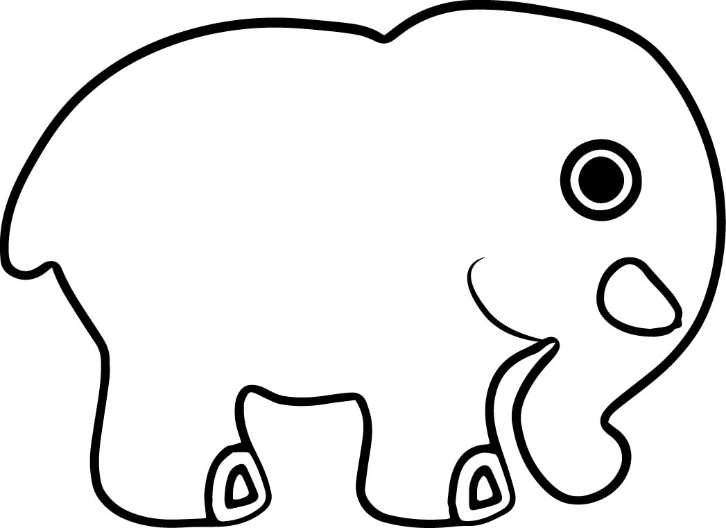 Elephant Coloring Page 49
