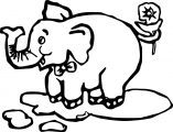 Elephant Coloring Page 53
