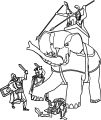 Elephant Coloring Page 58
