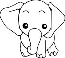Elephant Coloring Page 59
