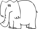 Elephant Coloring Page 64