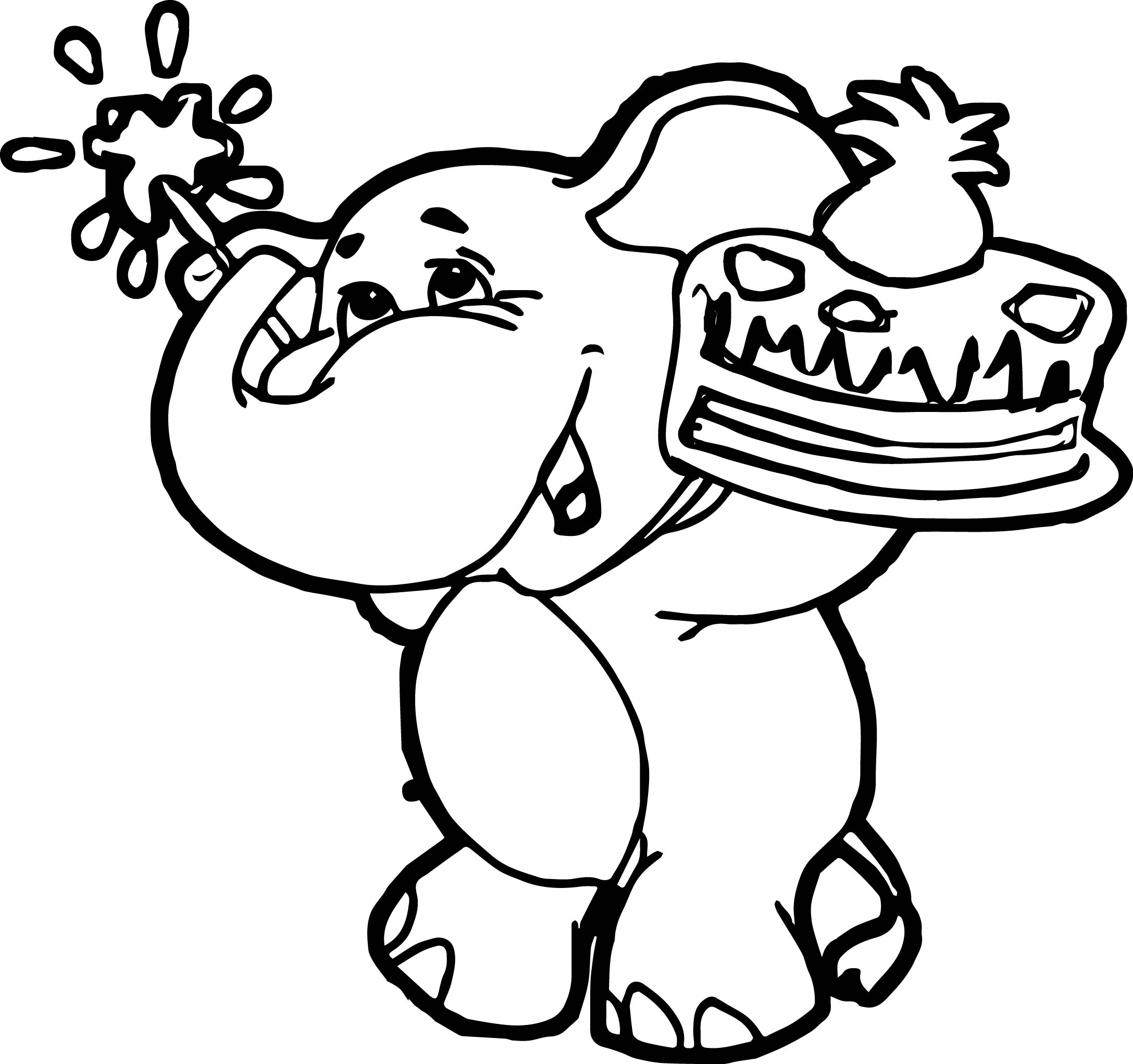 Elephant Coloring Page 68