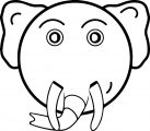 Elephant Coloring Page 71