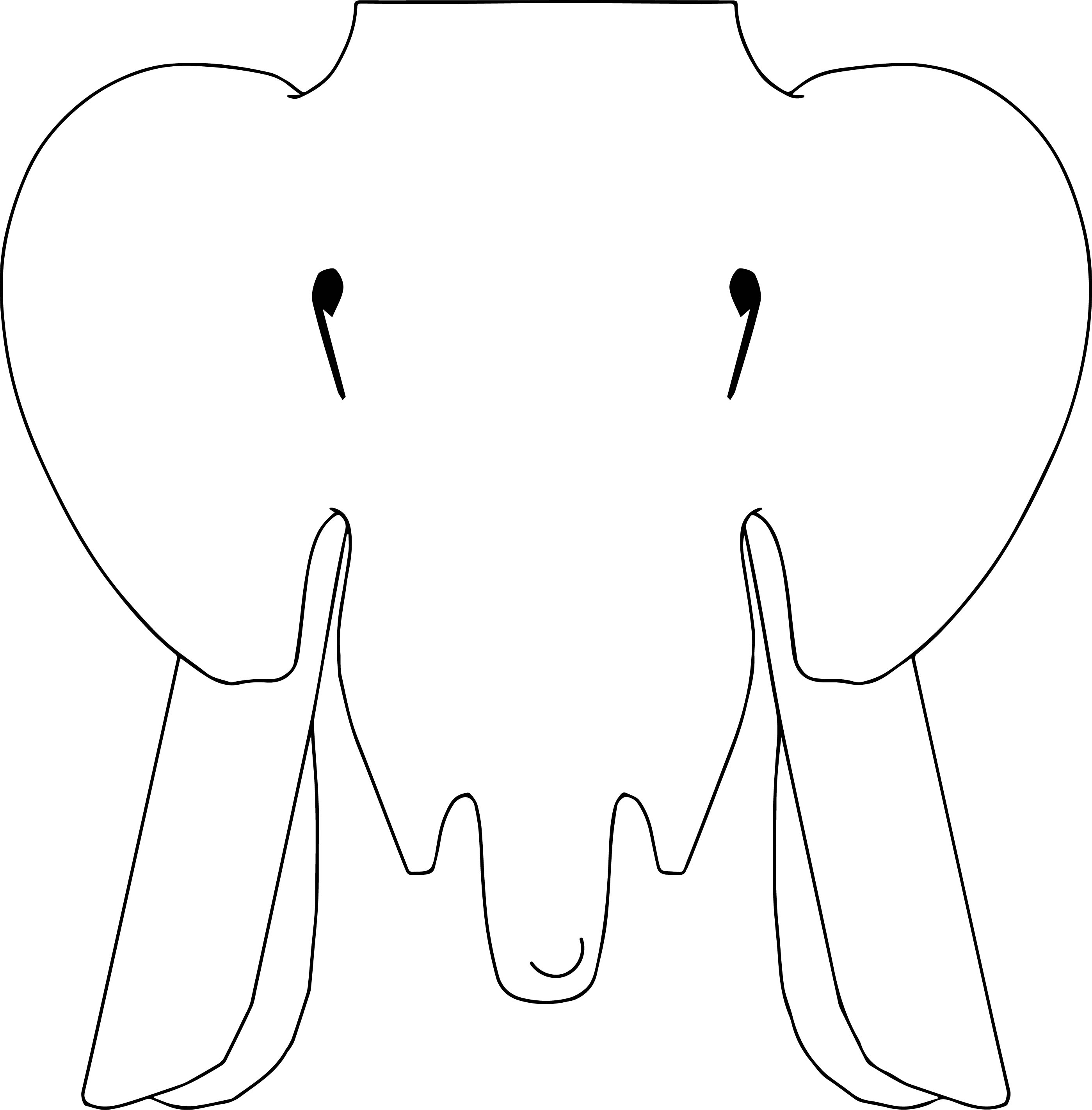 Elephant Coloring Page 86