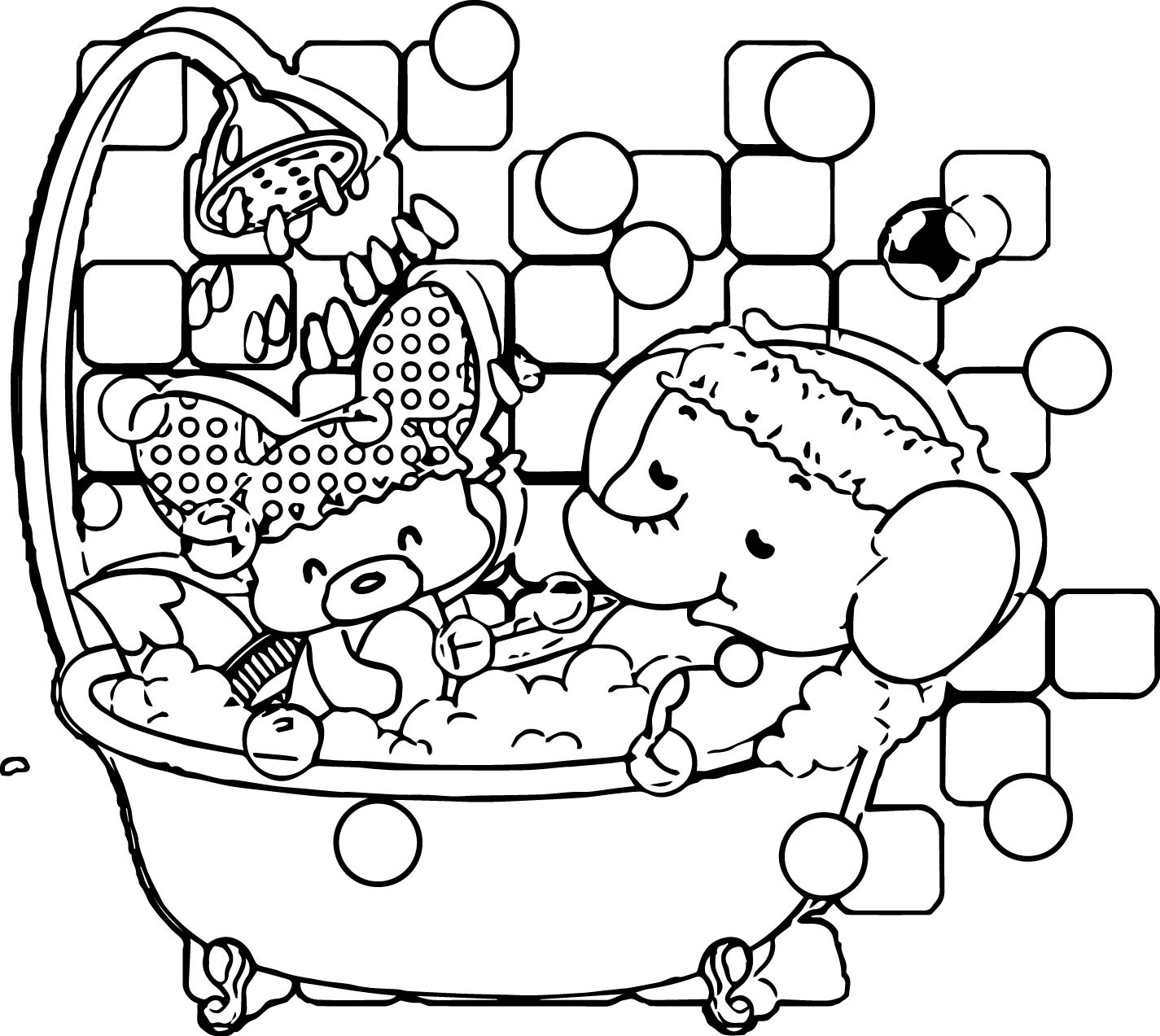 Elephant Coloring Page 97