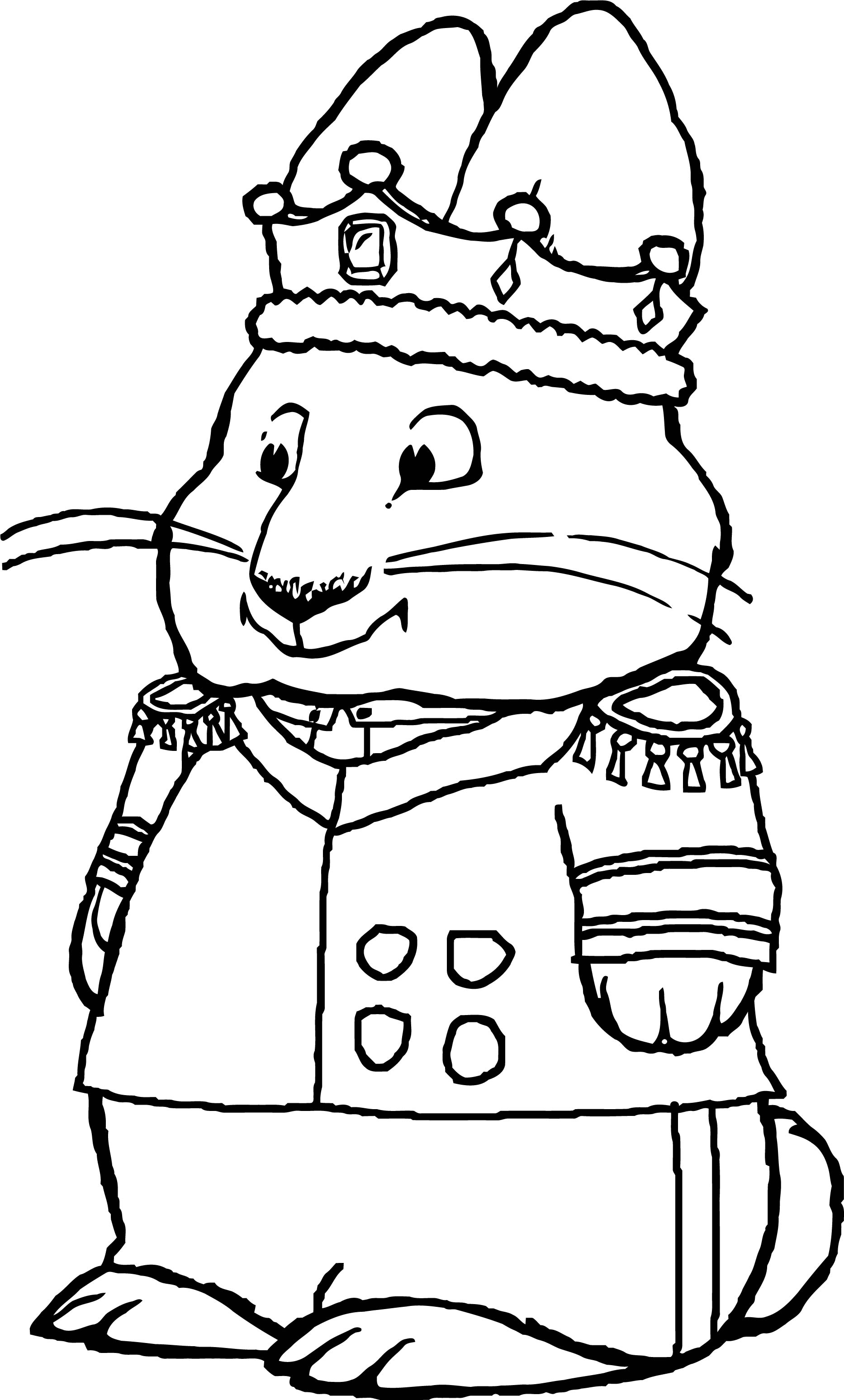 Emperor Max Max And Ruby Max And Ruby Coloring Page