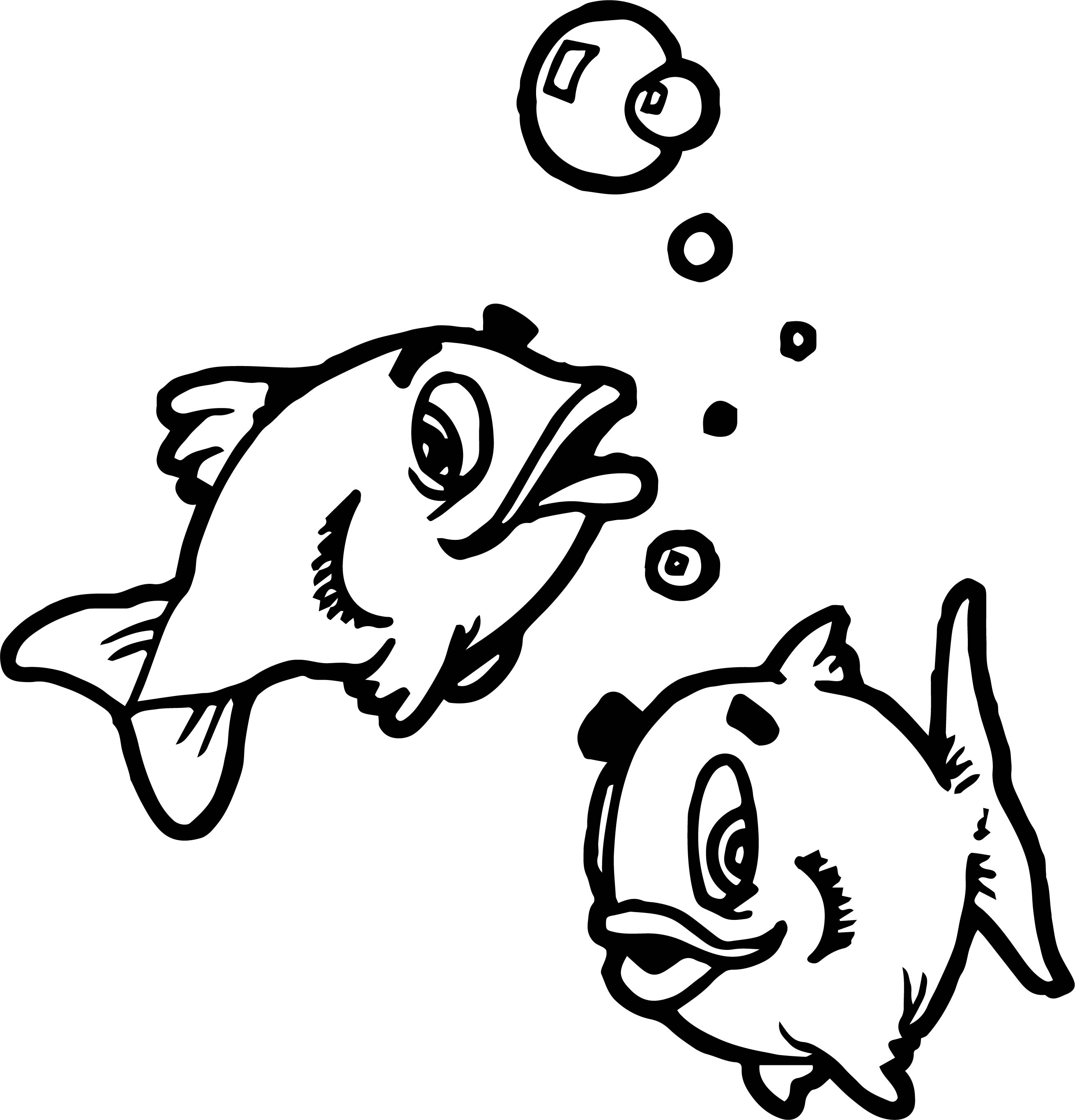 Fish Coloring Page WeColoringPage 083