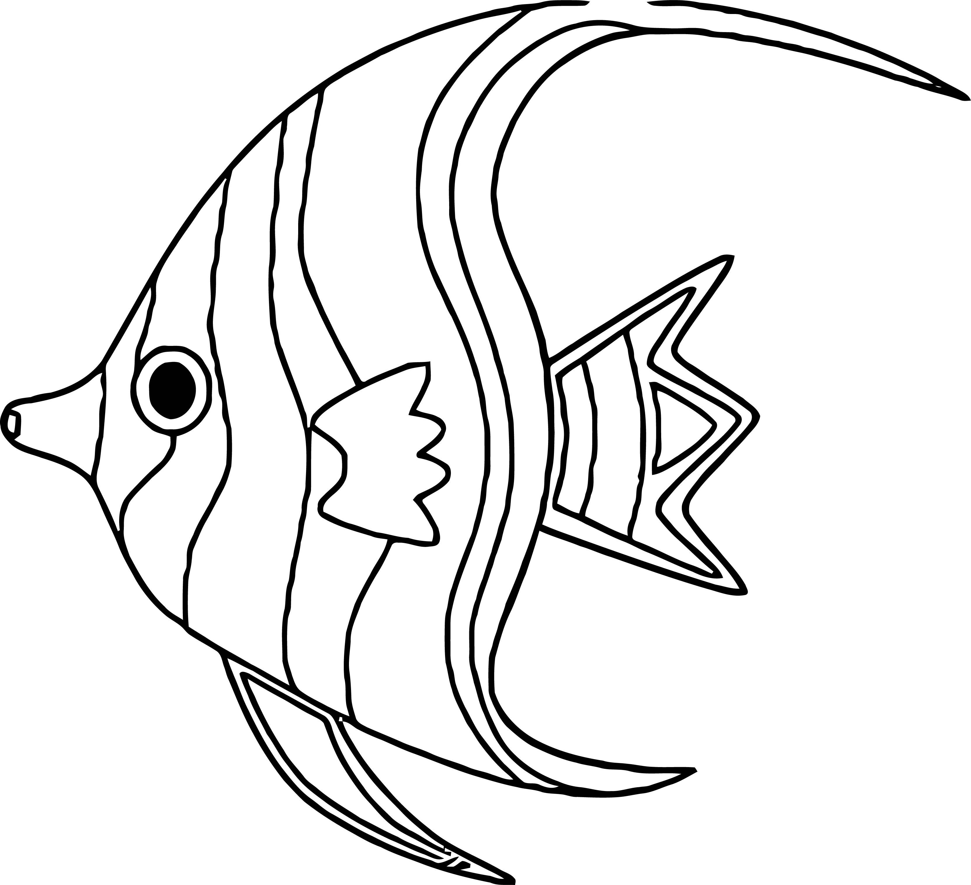 Fish Coloring Page Wecoloringpage 037