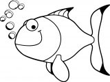 Fish Coloring Page Wecoloringpage 042