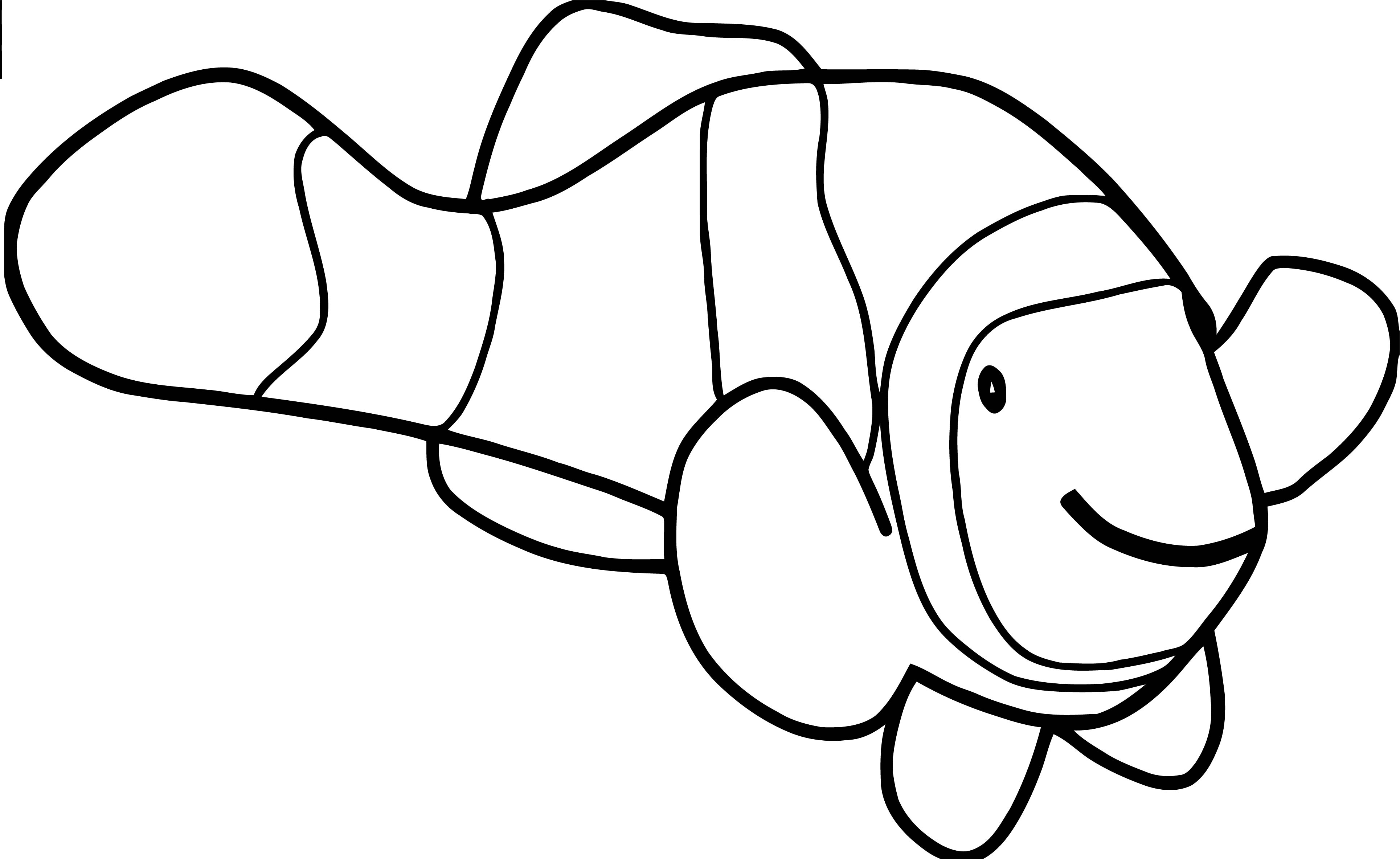 Fish Coloring Page Wecoloringpage 043