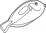 Fish Coloring Page Wecoloringpage 046